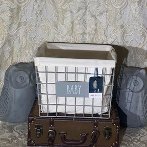 """Rae Dunn """"BABY"""" Wired Basket"""